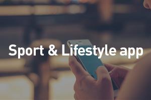 Sport & lifestyle app